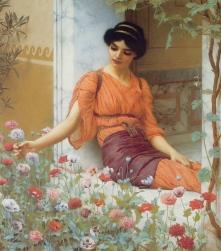 Godward_Summer_Flowers_1903